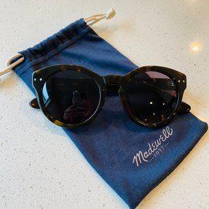 Madewell Hepcat Tortoiseshell Sunglasses